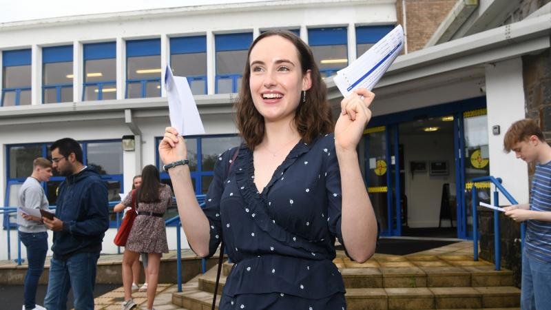 Gower College Swansea exam results 2020