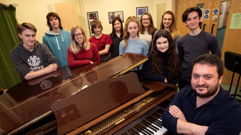 Students ready to face the music at top universities