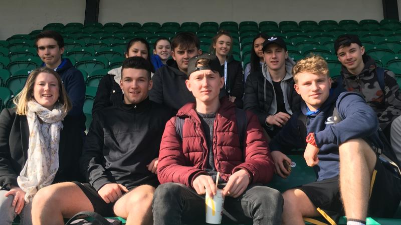 Students enjoy sport conference