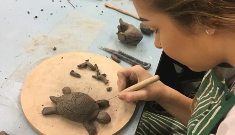 Students enjoy ceramics workshop