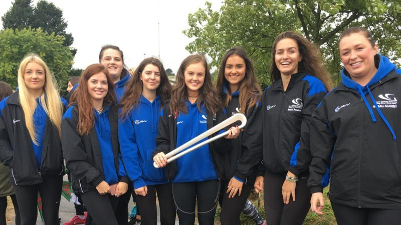 Netball Academy join Commonwealth Games Queen's Baton Relay