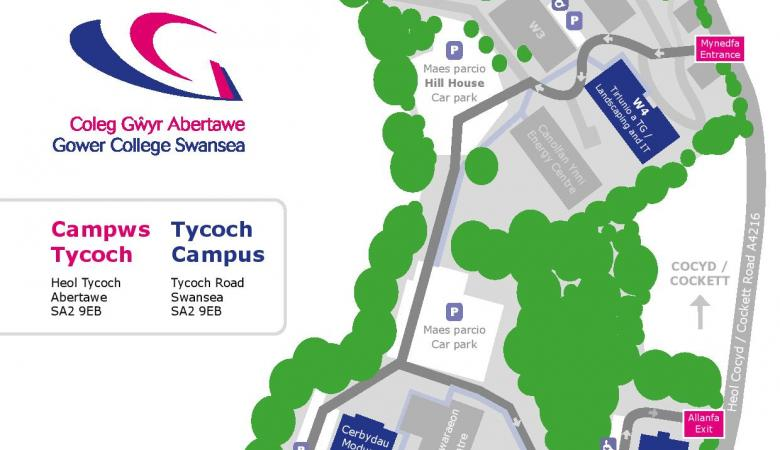 Arrangements for our Tycoch Campus open evening – 20 January 2020