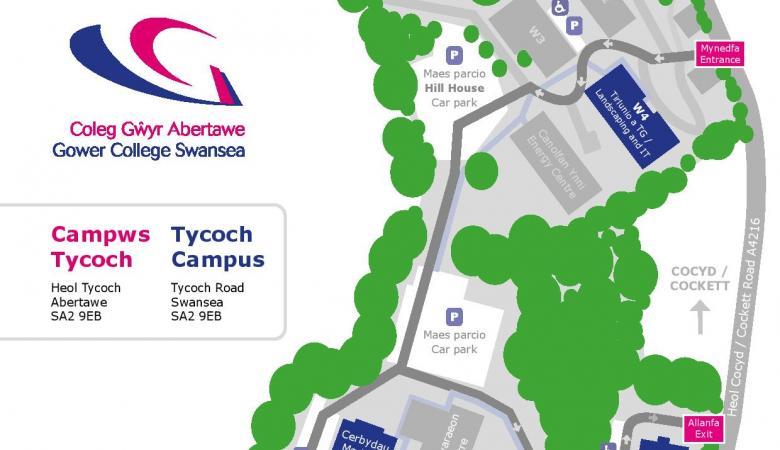 Trefniadau ar gyfer noson agored Campws Tycoch – 20 Ionawr 2020