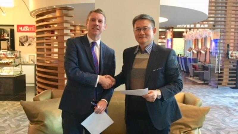 College signs educational partnership agreement