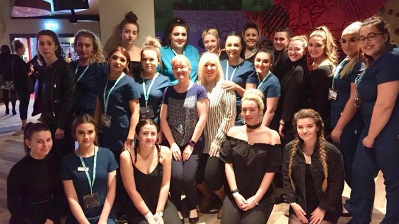 Competition success for beauty students