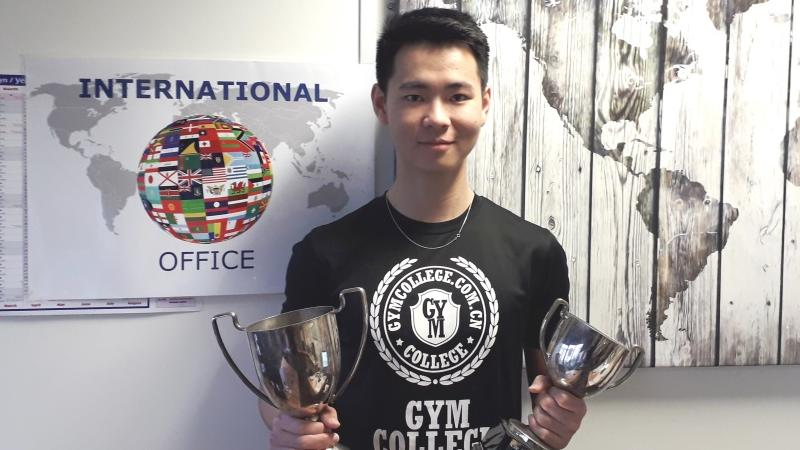 Table tennis success for International student
