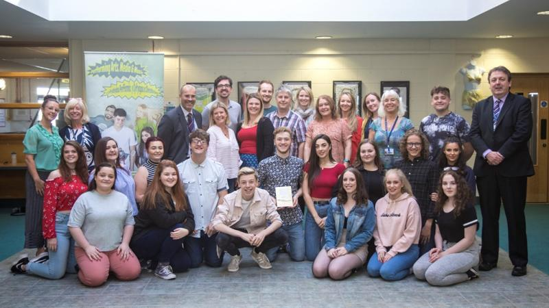 Gower College Swansea honoured in national celebration of teaching