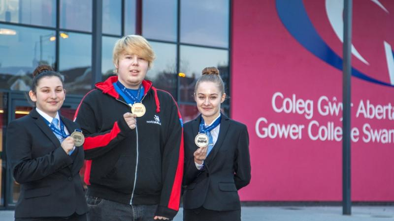 GCS students take Gold, Silver and Bronze at WorldSkills!