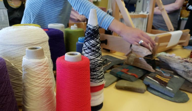 Students enjoy textiles workshop