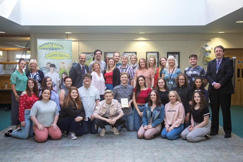 Gower College Swansea honoured in national celebration of