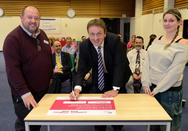 College supports national mental health campaign