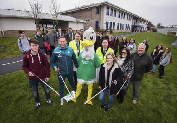 College launches litter picking project