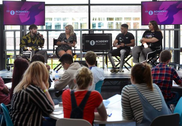 College hosts events linked to BBC Radio 1 Academy