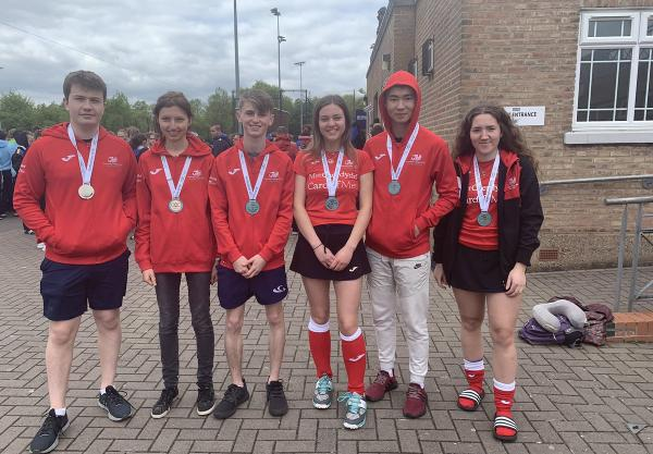 Silver medals haul for Gower College Swansea students