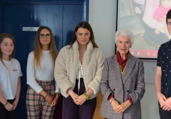 College welcomes guest from the Holocaust Educational Trust