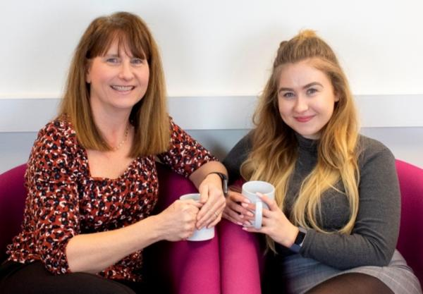 Mother and daughter thank College's employability programme