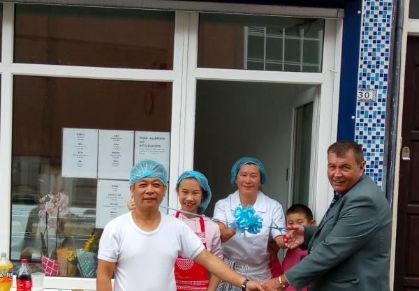 Lecturer guest of honour at bakery launch
