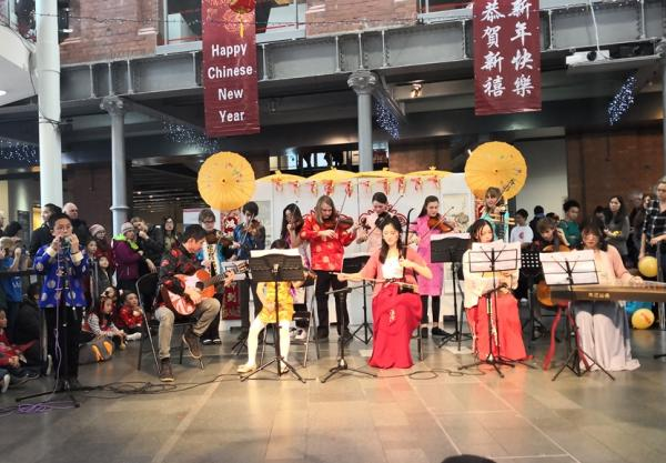 Cissy returns to the stage for Chinese New Year event