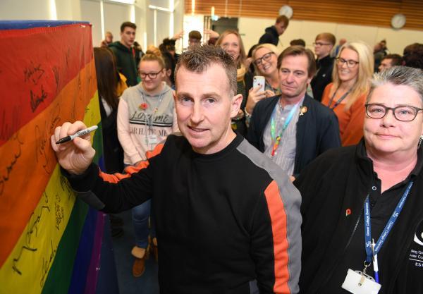 College's Rainbow Week celebrates inclusivity of LGBTQ+ individuals