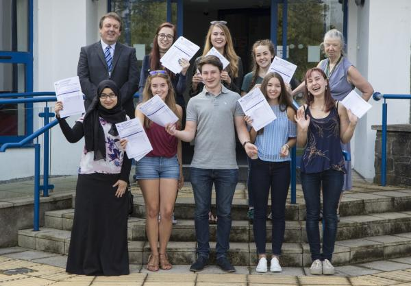 Gower College Swansea A Level results 2016