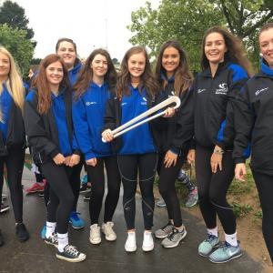 Netball Academy join Commonwealth Games Queen's Baton Relay