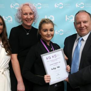 Level 2 Make-up Student Kaitlyn for Salon Cymru
