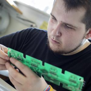 Skills Competition success for electronics student