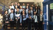 Chinese students enjoy College experience