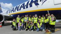 Airport work experience inspires students