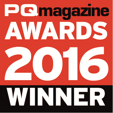 PQ Magazine Awards 2016 Winner Logo